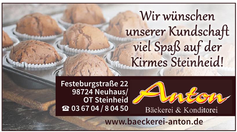 Anton Bäckerei & Konditorei