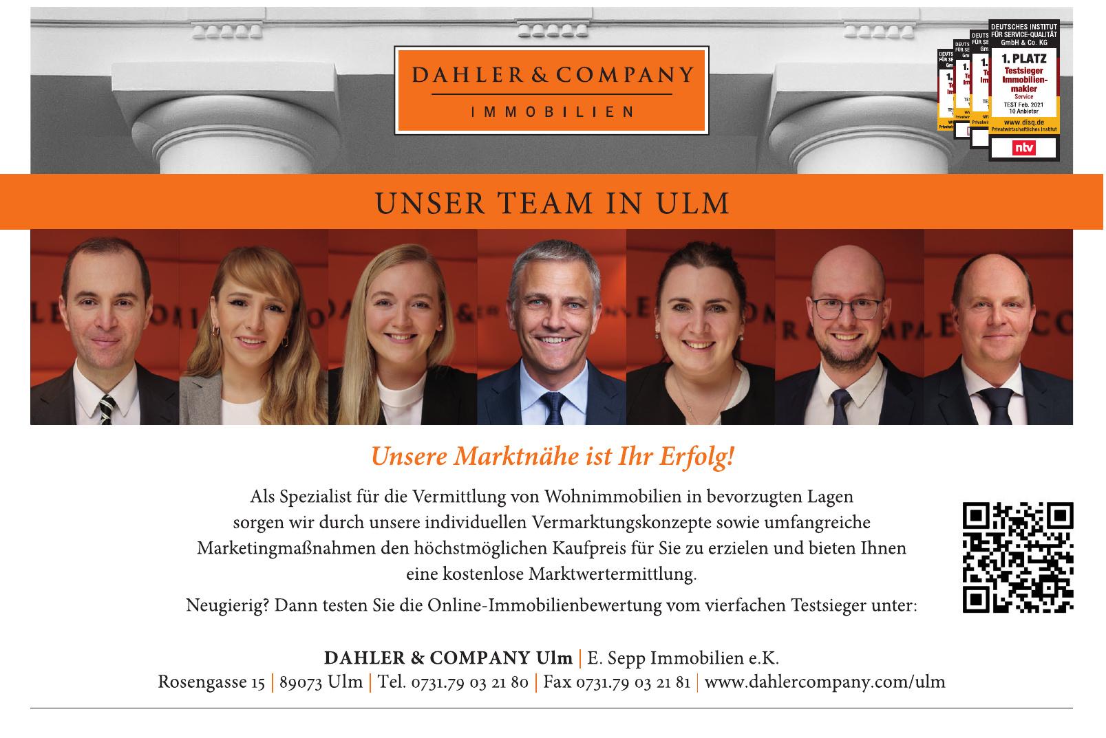 Dahler & Company Ulm