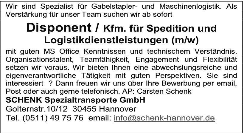 Schenk Spezialtransporte GmbH