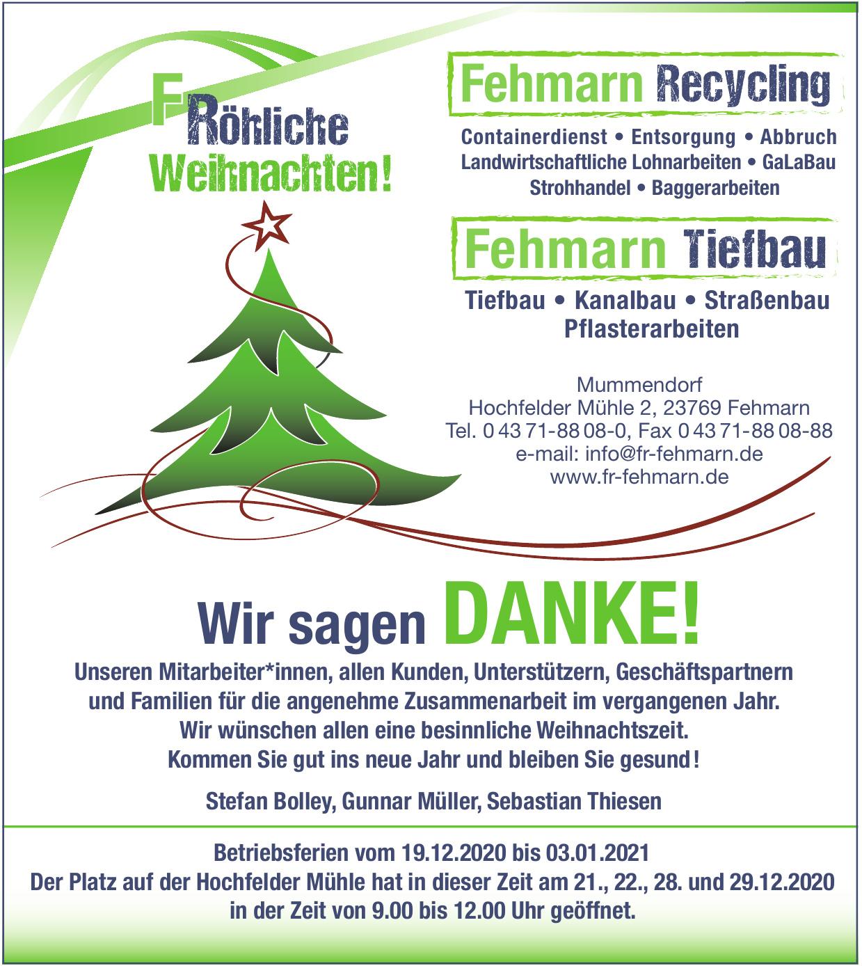 FR-Fehmarn Recycling