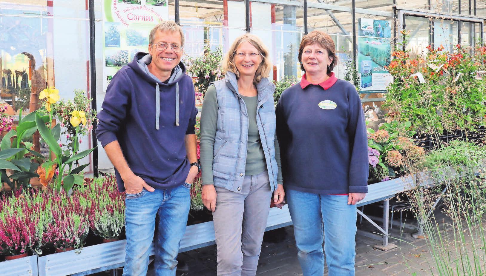 Der Erfolg der Gärtnerei und Baumschule Ertingshausen gründet auf fundierter Fachberatung, die nicht beim Kauf endet, und dem Mix aus traditionellen und modernen Pflanzenangeboten.