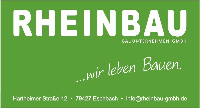 Rheinbau Bauunternehmen GmbH