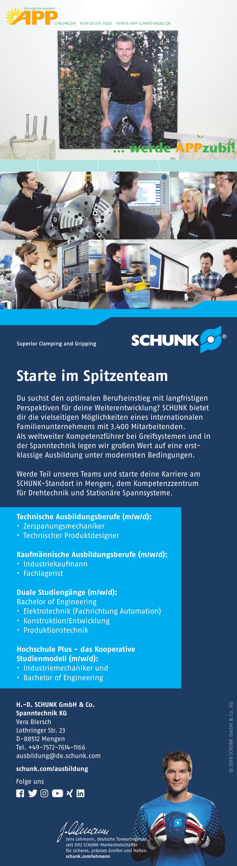 H.-D. Schunk GmbH & Co. Spanntechnik KG