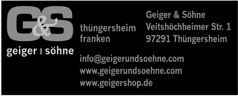 Geiger & Söhne