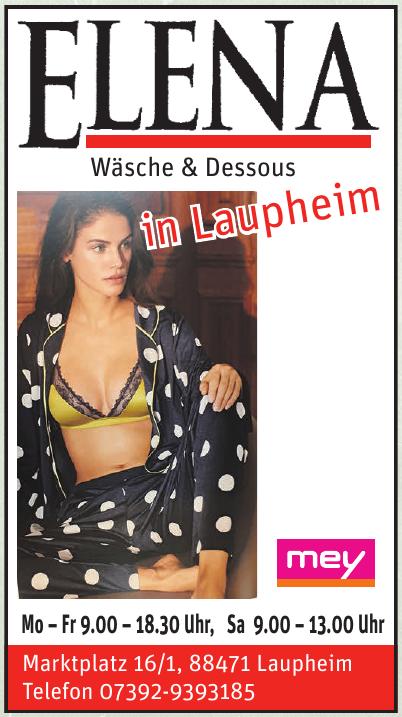 ELENA Wäsche & Dessous