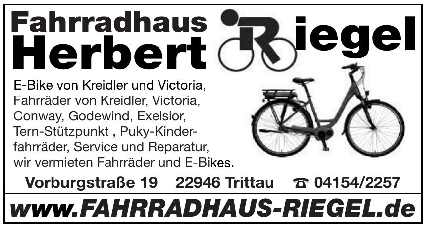 Fahrradhaus Herbert Riegel