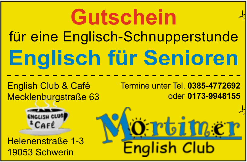 Mortimer English Club & Café