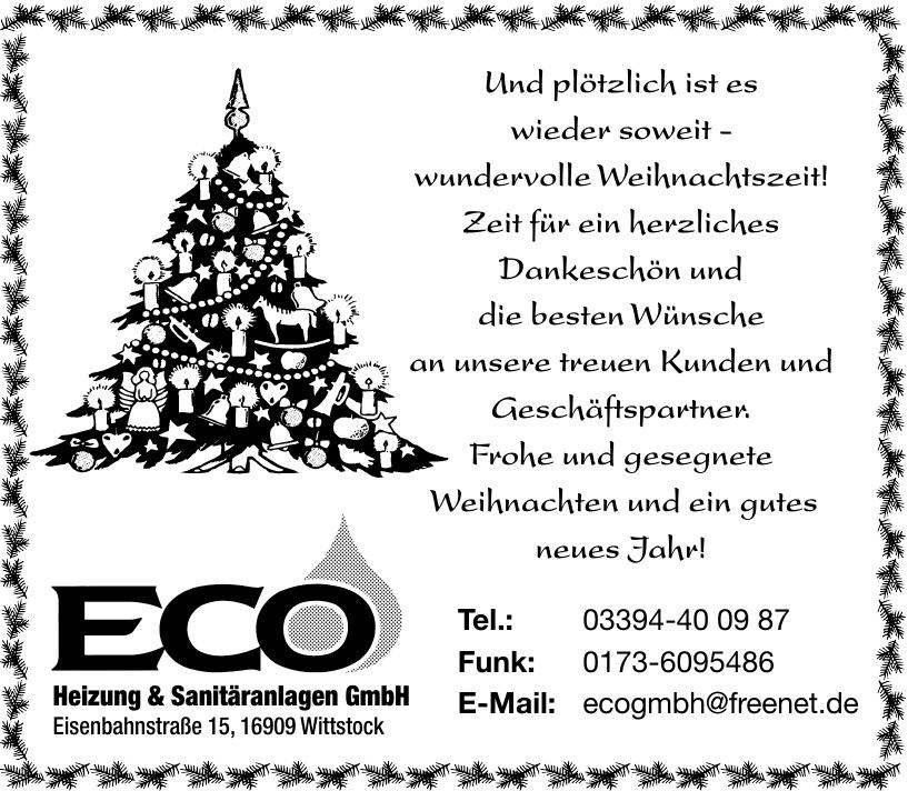ECO Heizung & Sanitäranlagen GmbH