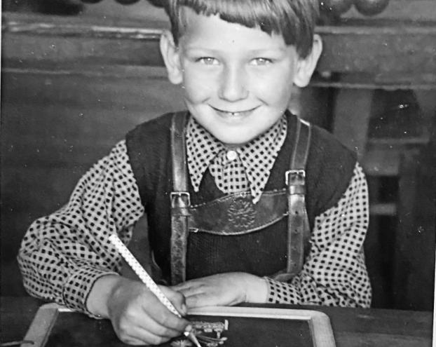 Eher brav: der junge Rudolf Hauck. FOTO: HAUCK/FREI