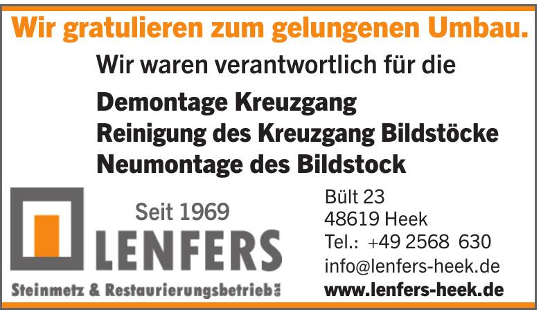 Lenfers Steinmetz & Restaurierungsbetrieb GbZ