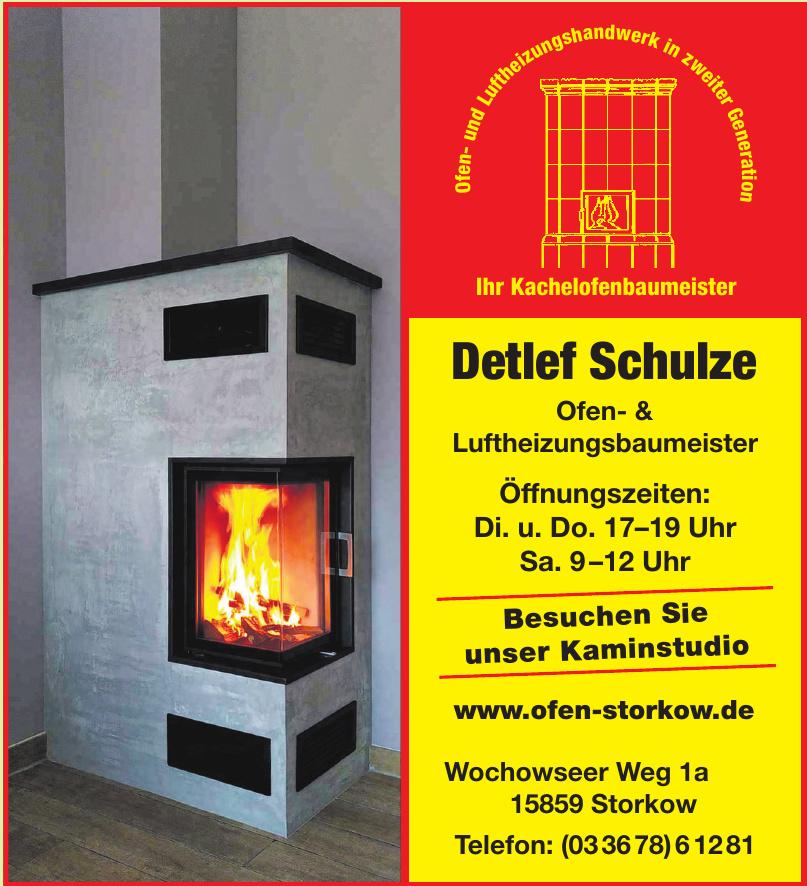Detlef Schulze Ofen- & Luftheizungsbaumeister