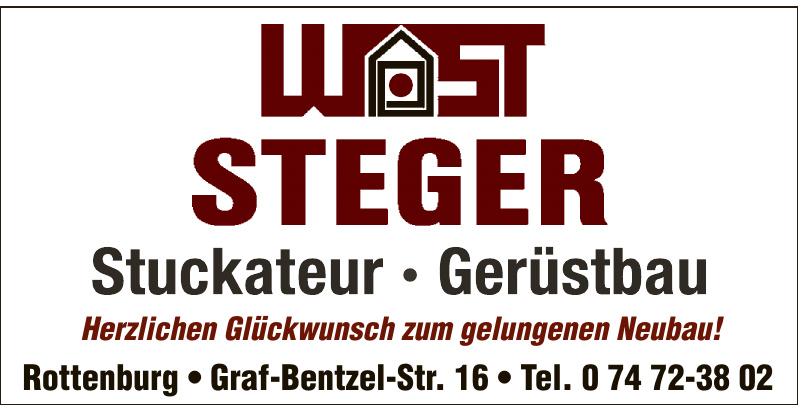 Wast Steiger Stuckateur, Gerüstbau