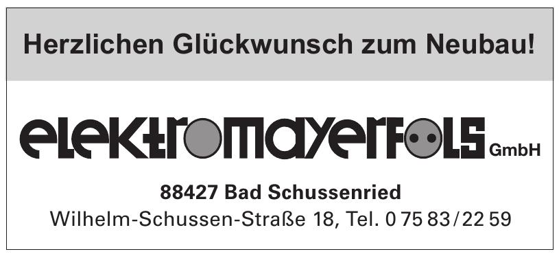 Elektro Mayerfols GmbH