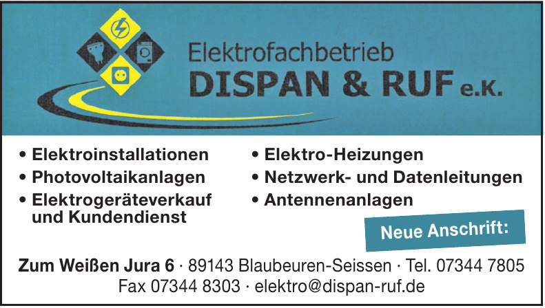 Elektrofachbetrieb Dispan & Ruf e.K.