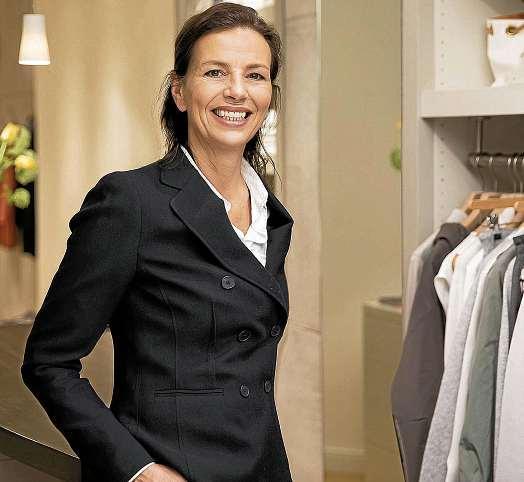 Heidrun Schloen: Kiels Gute Adresse für angesagte Trends und zeitlosen Style. FOTO: PEPE LANGE