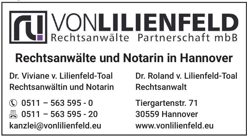 VonLilienfeld Rechtsanwälte Partnerschaft mbB