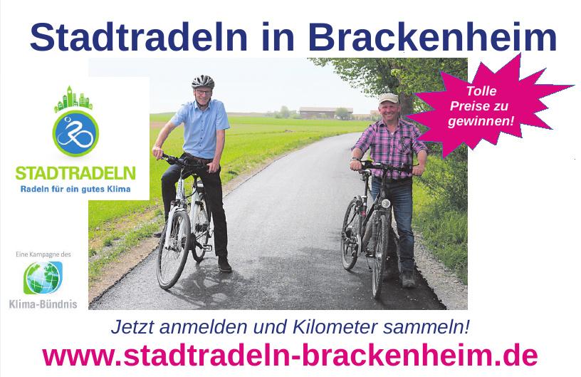 Stadtradeln in Brackenheim