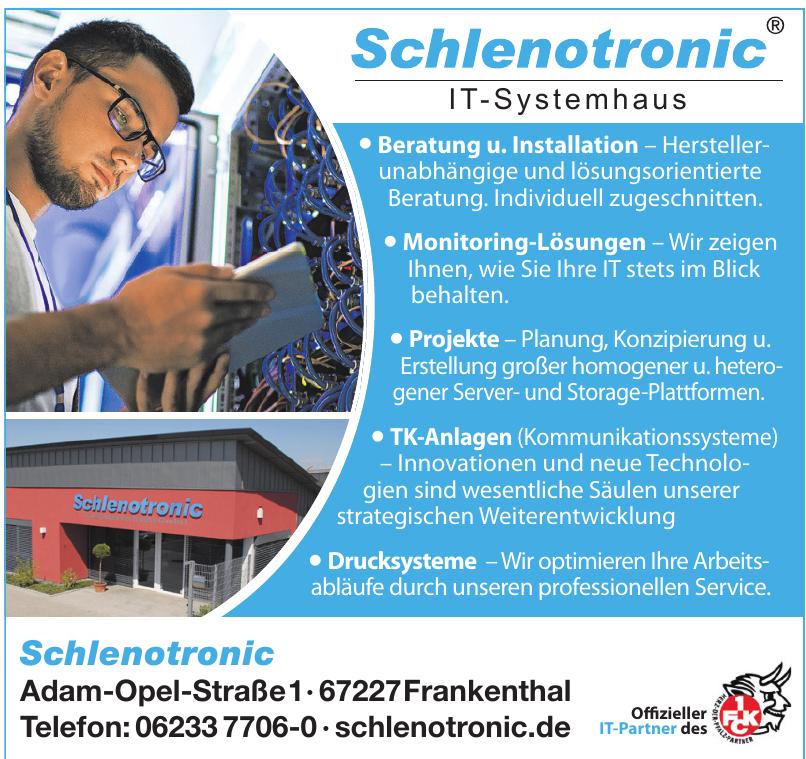 Schlenotronic