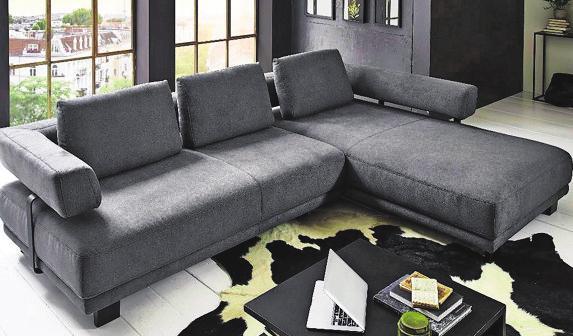 Das Wohnforum Wurster bietet zahlreiche, schöne Sofa-Kollektionen Foto: z/Hukla