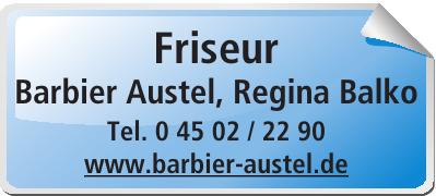 Friseur Barbier Austel, Regina Balko