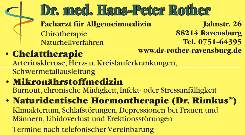 Dr. med. Hans-Peter Rother