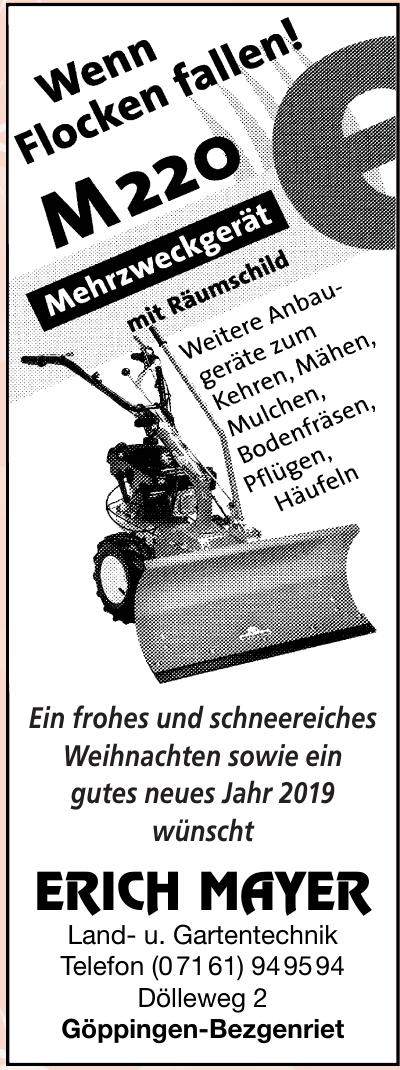 Erich Mayer Land- u. Gartentechnik
