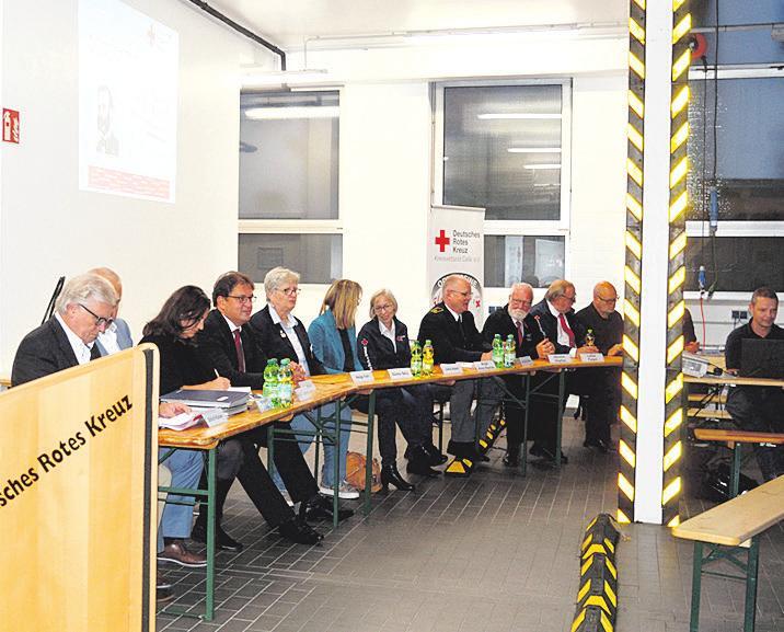 Während der Mitgliederversammlung. Foto: Anke Schlicht