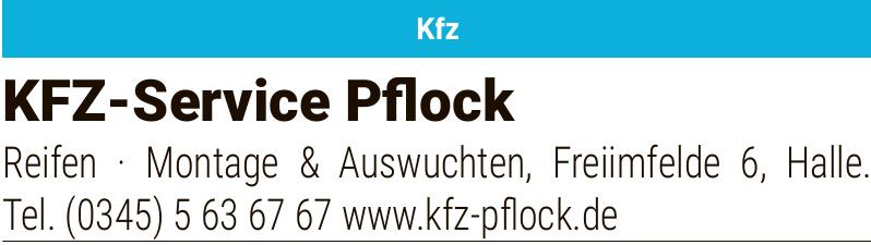 Kfz-Service Pflock