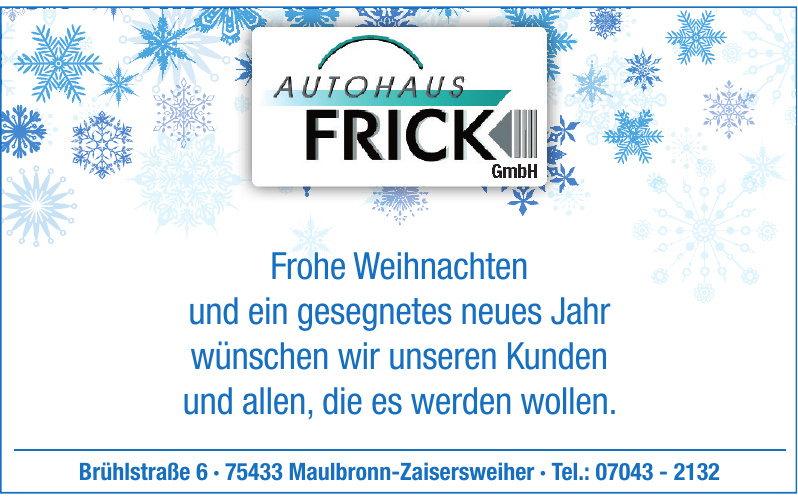 Autohaus Frick GmbH