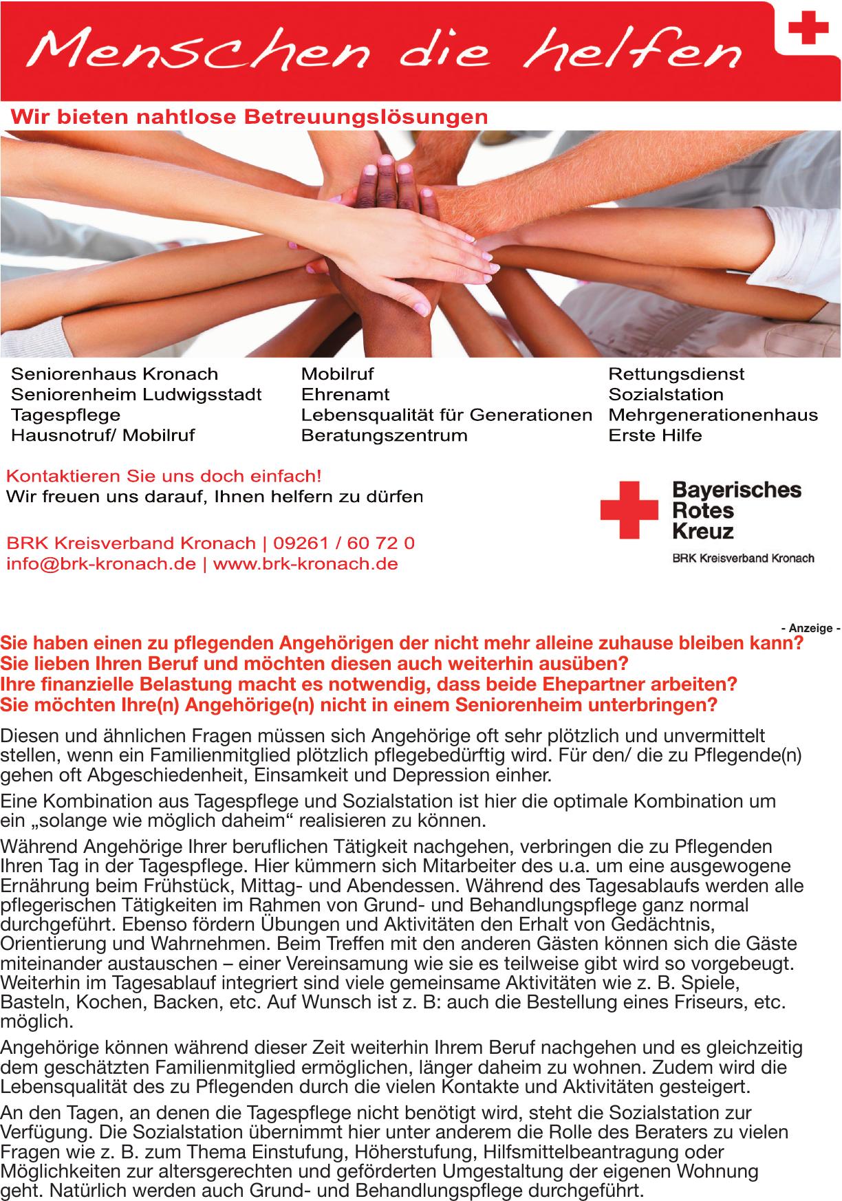 BRK Kreisverband Kronach