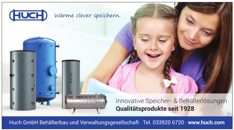 Huch GmbH Behälterbau und Verwaltungsgesellschaft