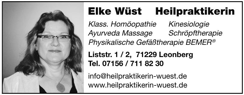 Elke Wüst Heilpraktikerin