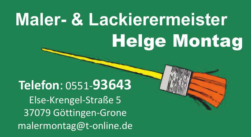 Maler- & Lackierermeister Helge Montag
