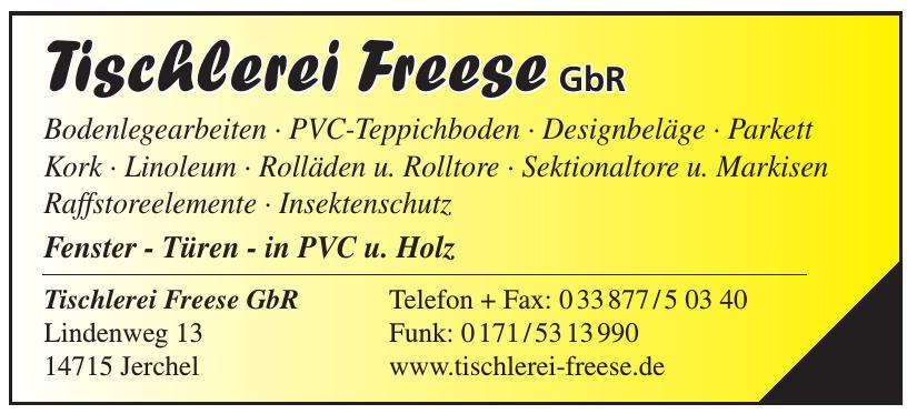 Tischlerei Freese GbR