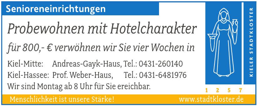 Kieller Stadtkloster - Andreas-Gayk-Haus