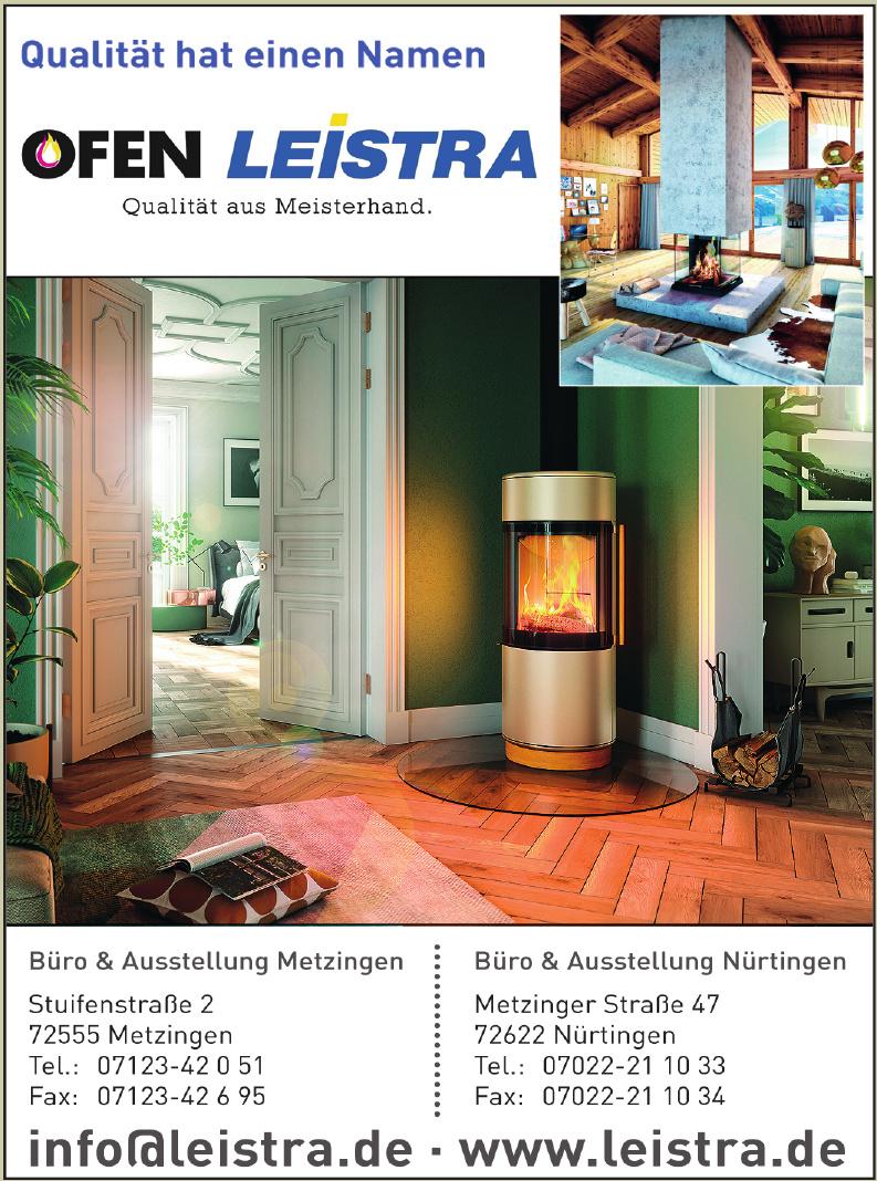 Leistra Kachelöfen und Kamine GmbH