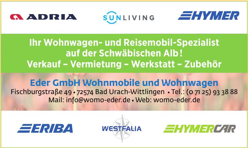 Eder GmbH Wohnmobile und Wohnwagen