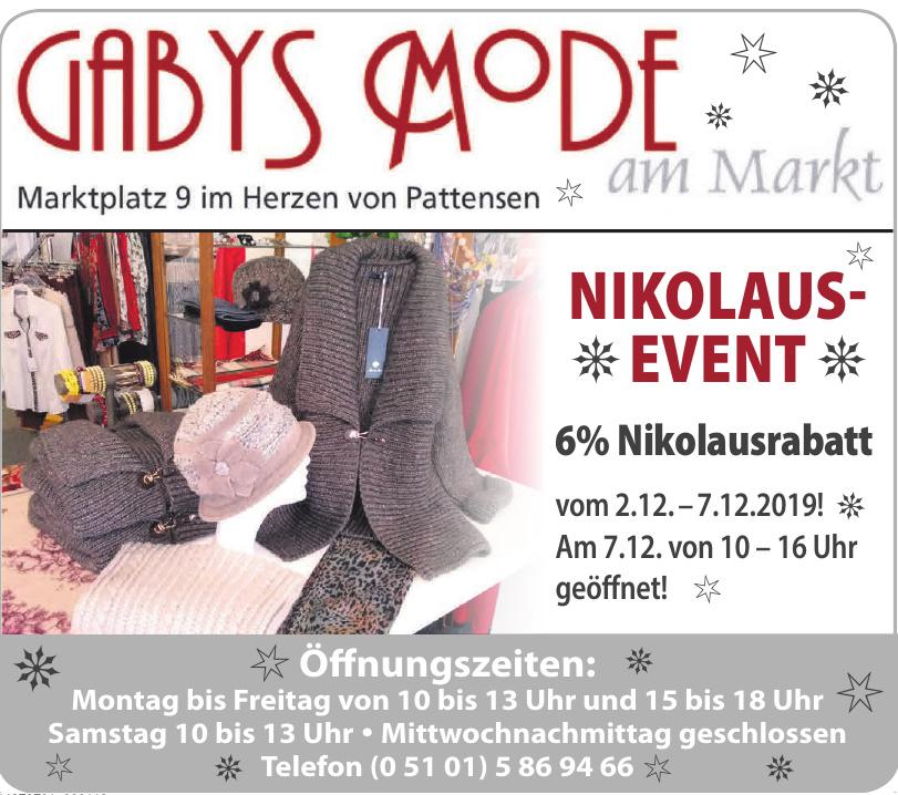 Gabys Mode am Markt