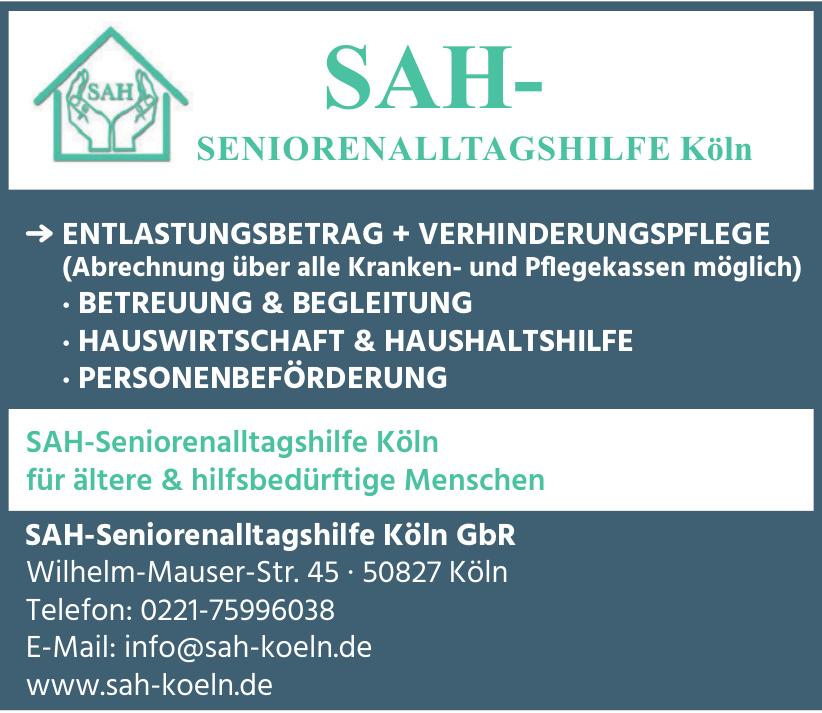 SAH-Seniorenalltagshilfe Köln GbR