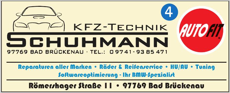 Kfz-Technik Schuhmann