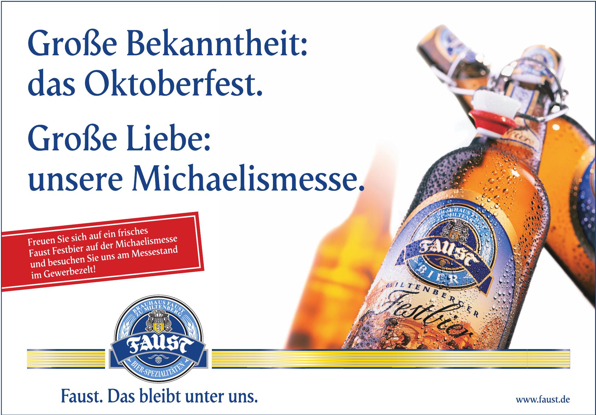 Brauhaus Faust zu Miltenberg