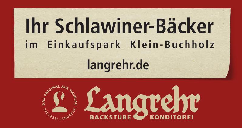 Langrehr Backstube, Konditorei