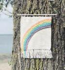 Wallhanging made in Schnelsen: Auch für diese Wanddekos gibt es eine Häkelanleitung