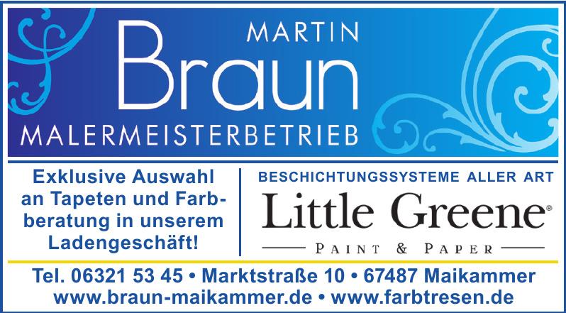 Martin Braun Malermeisterbetrieb
