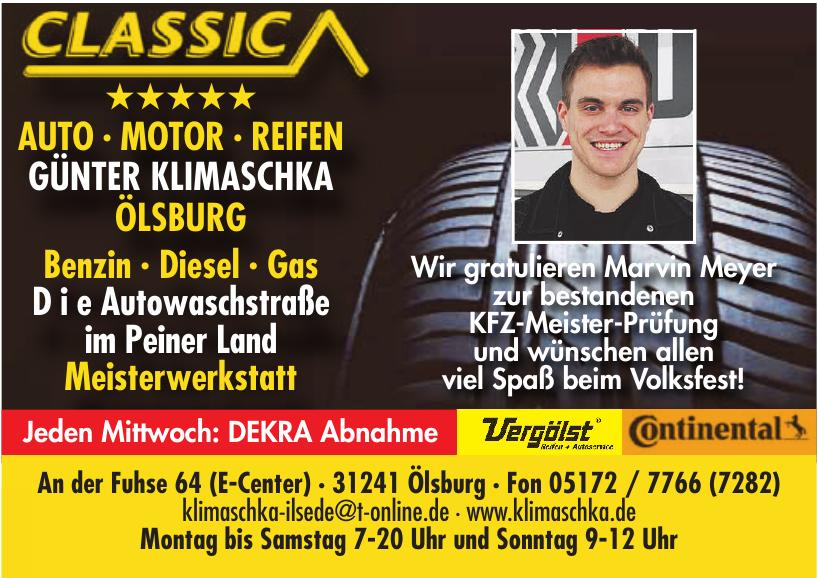 Auto-Motor-Reifen Günter Klimaschka Ölsburg GmbH & Co. KG