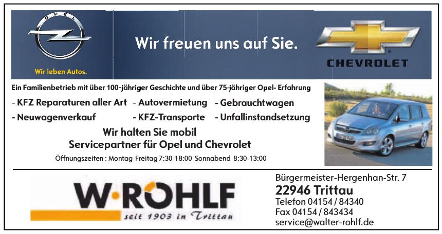 W. Rohlf