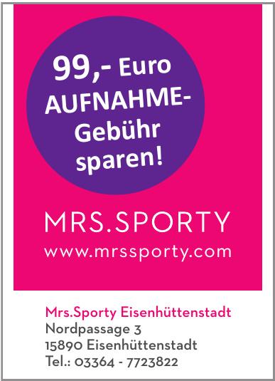 Mrs.Sporty Eisenhüttenstadt