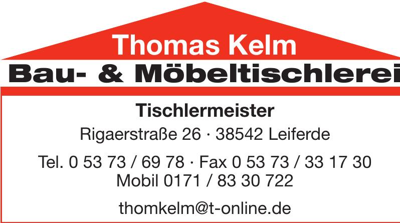Tischlermeister Thomas Kelm