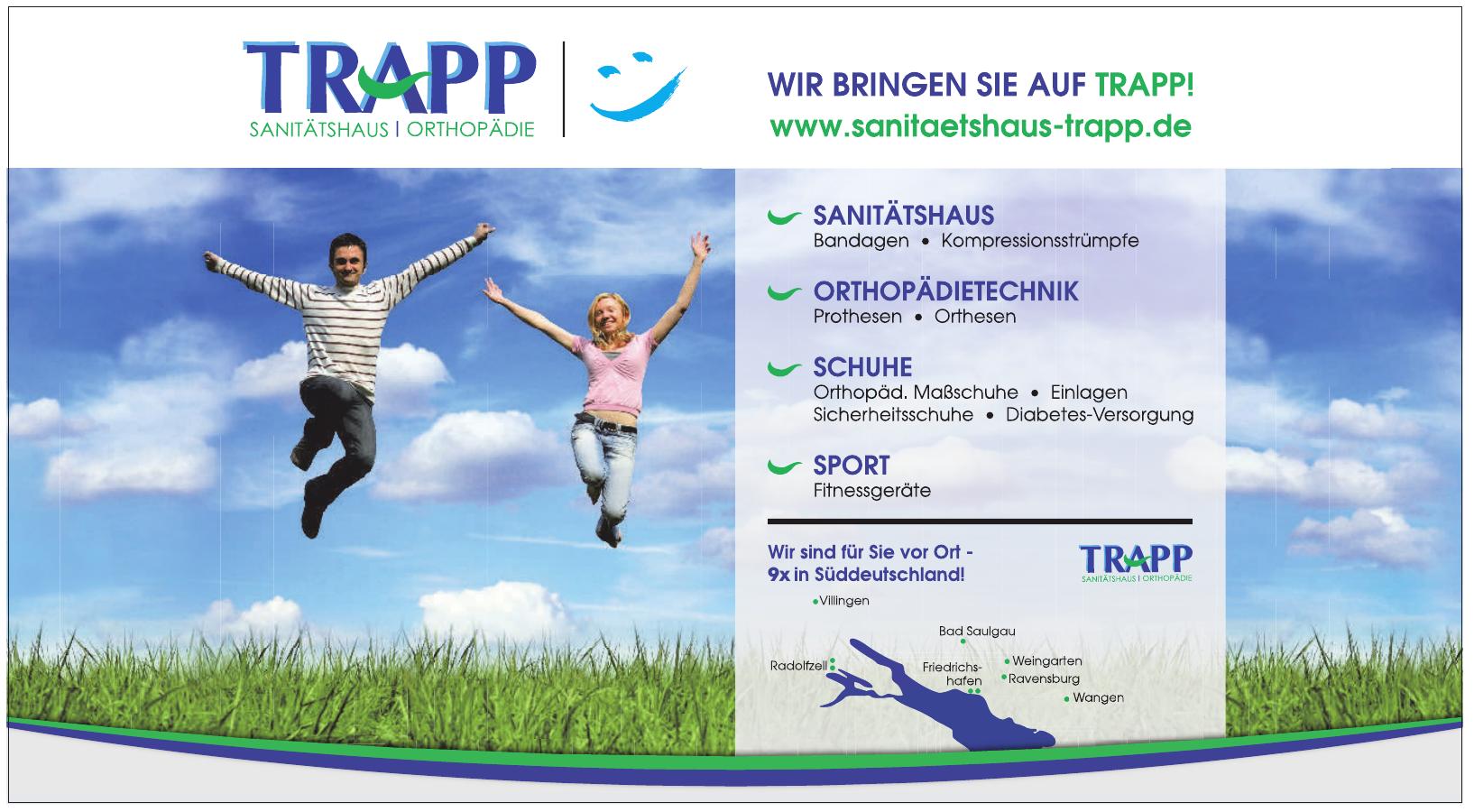 Trapp - Sanitätshaus/Orthopädie