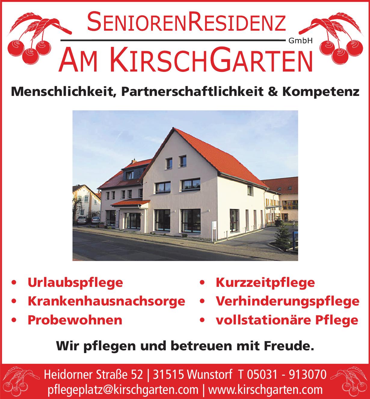 Senioren Residenz Am Kirch Garten GmbH